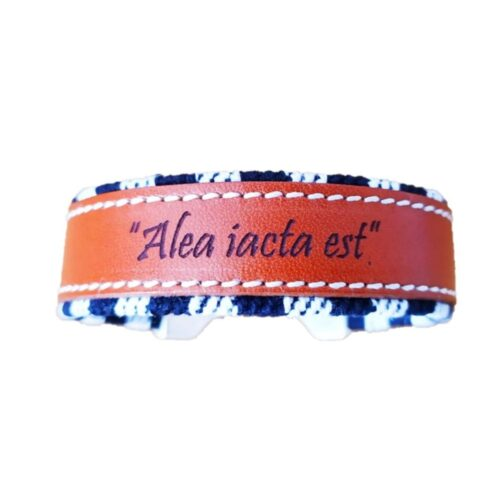 Pulsera taurina Alea jacta est