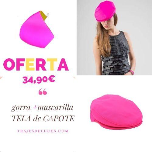 Oferta gorra y mascarilla capote