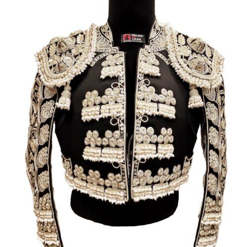 Costume de matador noir et argent