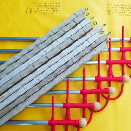 Ayudas de muleta de aluminio