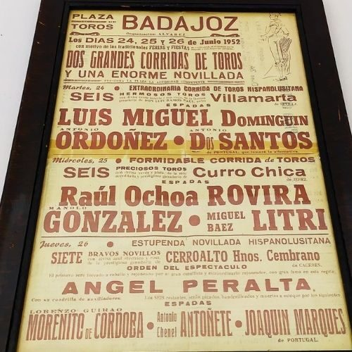 cartel-taurino-antiguo-badajoz-1952