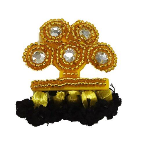 Broche alamar color oro