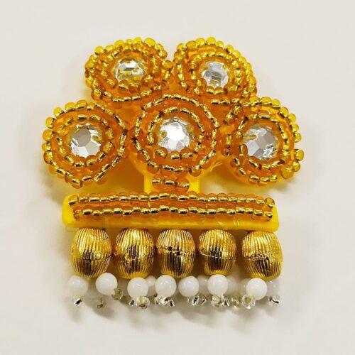 Broche alamar oro Cambio de tercio IV