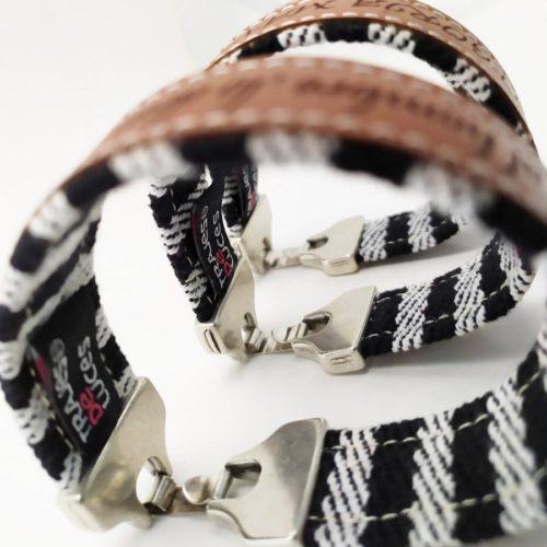 Bracelet de tauromachie au cheval, comme le temps, l'homme l'apprivoise